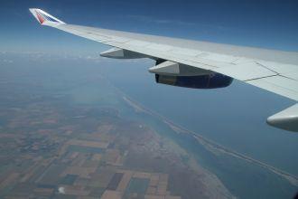Крым под крылом самолета